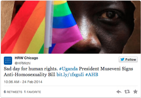 Uganda anti gay law