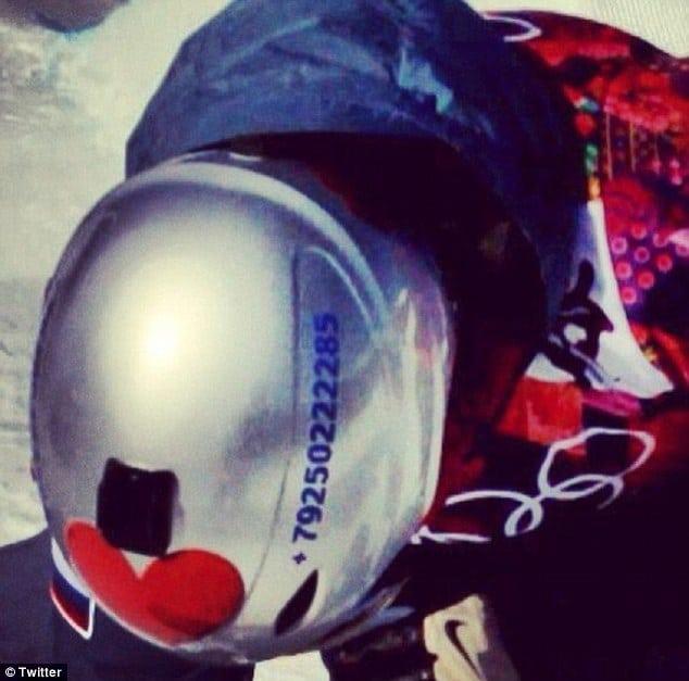 Olympic Snowboarder Alexey Sobolev