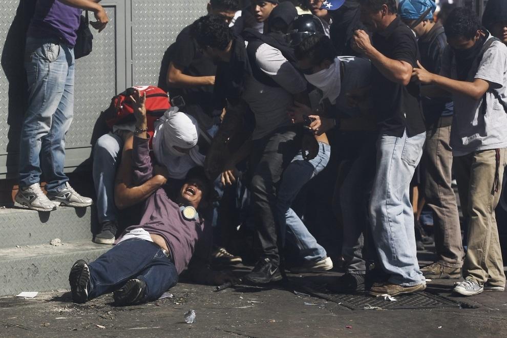 Venezuela protestors
