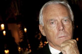 Giorgio Armani pissed off Anna Wintour missed his show.