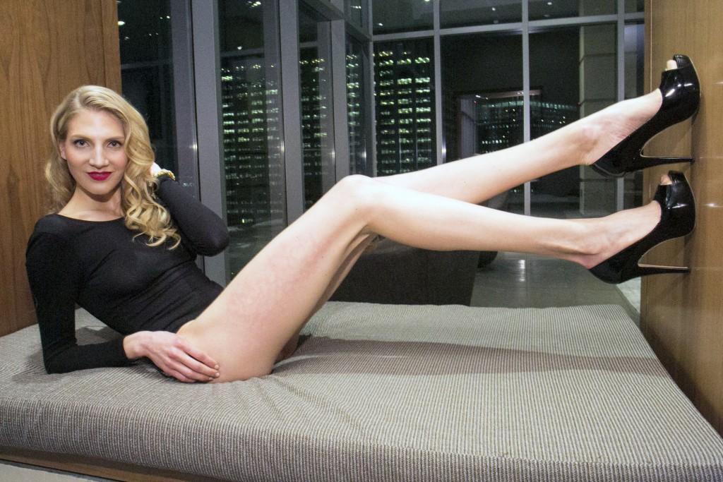 Brooke Banker longest legs