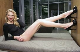 Brooke Banker has the longest legs of NYC.