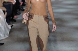 Kendall Jenner braless for Marc Jacobs and the world goes crazy.