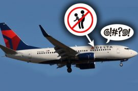 Drunk Delta Airlines female passenger handcuffed after her sexual come ons are rebuffed by passenger
