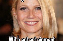 Is Gwyneth Paltrow cheating? Whisper app says yes.