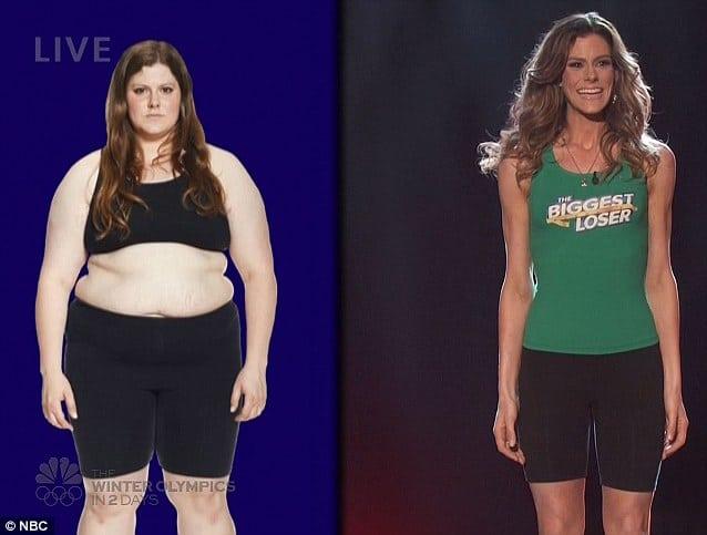 The Biggest Loser winner Rachel Frederickson
