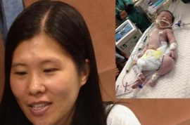 Min Lin, pregnant woman killed by snow plow in Brooklyn. Baby clings to life.