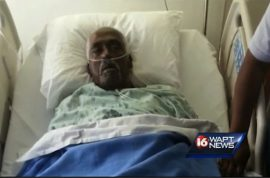 Walter Williams, dead man wakes up just in time before being embalmed.