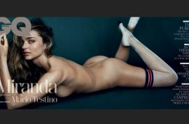 Miranda Kerr naked for GQ: 'Im more sexually confident thanks.'