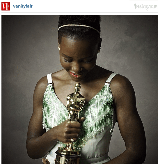 Vanity Fair Oscars Party Instagram