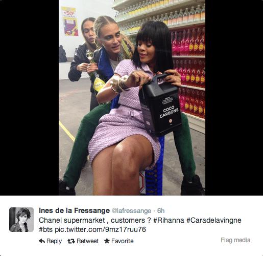 Supermarket sweep Chanel