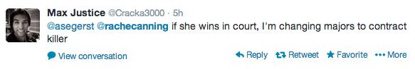 Rachel Canning twitter