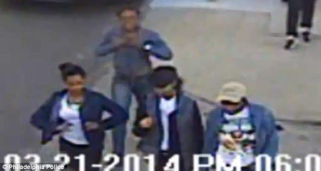 Temple Uni Student brick attack