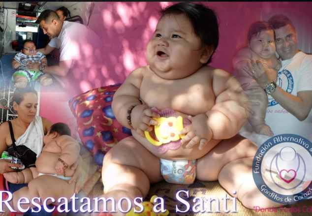 Columbia's fattest baby