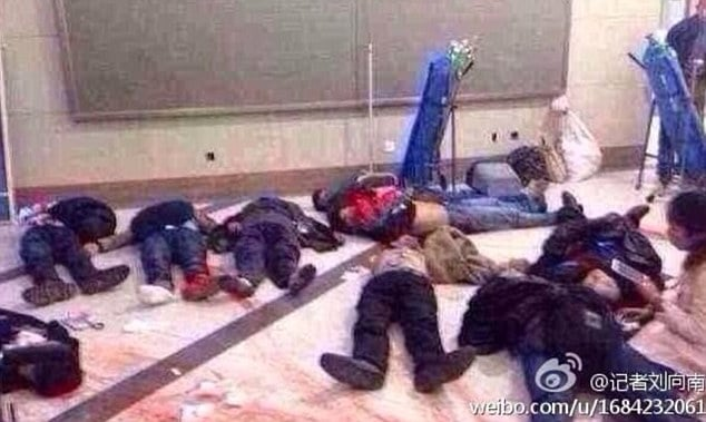 Chinese knife gang