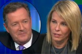 Chelsea Handler explains to Piers Morgan why he got canned.