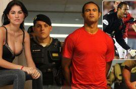 Bruno Fernandes de Souza, Brazilian soccer player applies twelve months after twenty two year sentence for murder of girlfriend to play again.