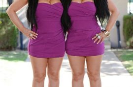 Aussie twin sisters share everything, from job, wardrobe, plastic surgery and boyfriend.