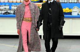 Supermarket sweep Chanel is brilliant. Karl Lagerfeld excels.