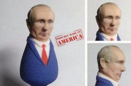 Will you be using the Vladimir Putin Butt plug too?