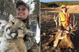 Charisa Argys receives death threats after posting image of dead Mountain lion.