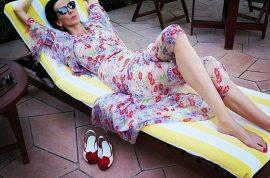 L'Wren Scott instagram: fake glam life despite $6 million debts.