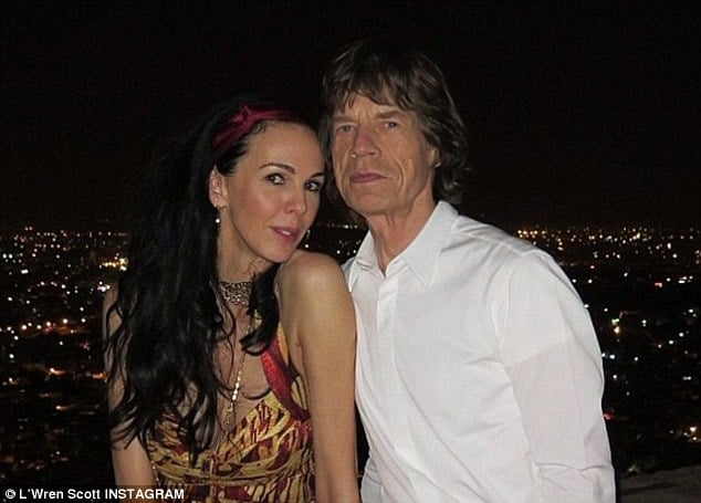 Mick Jagger cheating on L'wren Scott