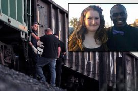 Mickayla Friend's boyfriend dies saving her from an oncoming train.