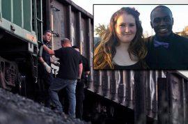 Mickayla Friend's boyfriend dies saving her from an oncoming train.
