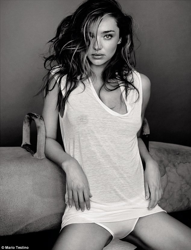 Miranda Kerr naked for GQ