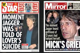 Mick Jagger health fears as singer under round the clock surveillance.