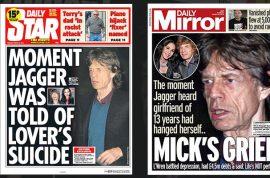 Mick Jagger health fears as singer under round the clock surveillance.