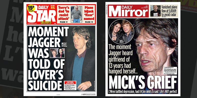 Mick Jagger health fears