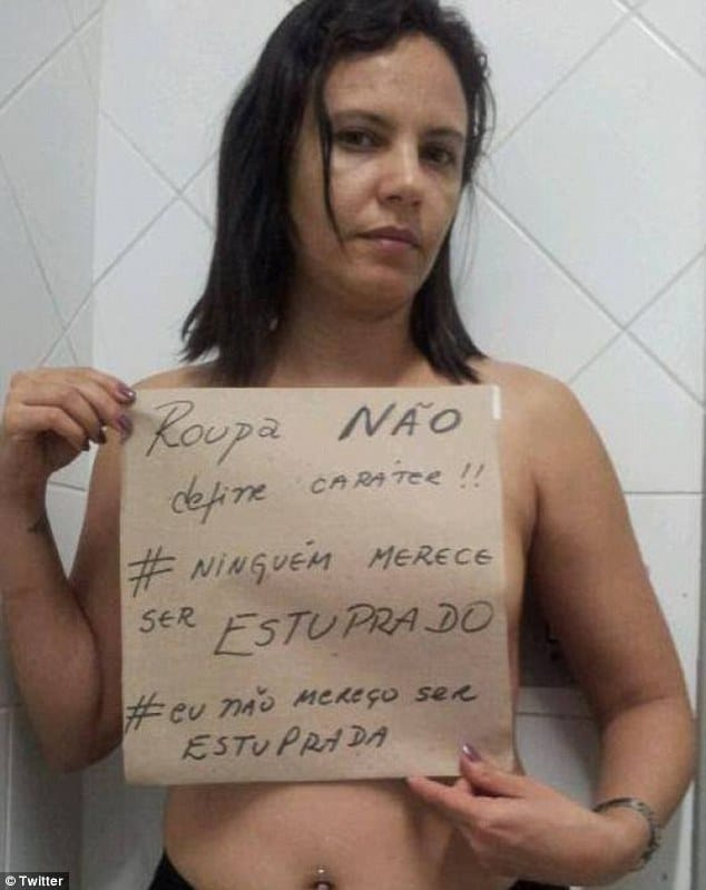 Brazilian women think they deserve to be raped