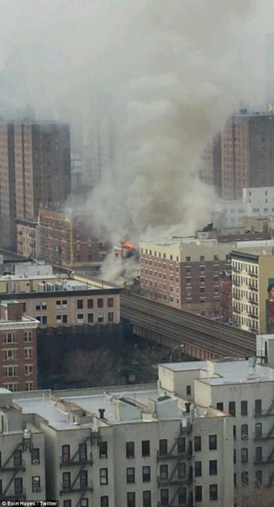 Manhattan apartment explosion
