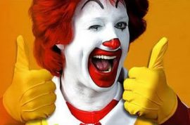 McDonald's employees sue over stolen wages. Forced to wait in the carpark until customers turned up.