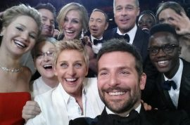 Ellen Degeneres twitter selfie confirms Hollywood still matters.