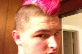 Student who got pink mohawk for breast cancer awareness banned from track