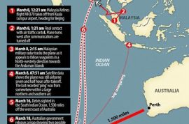 Malaysia Airlines flight MH370 disappeared because of suicide.