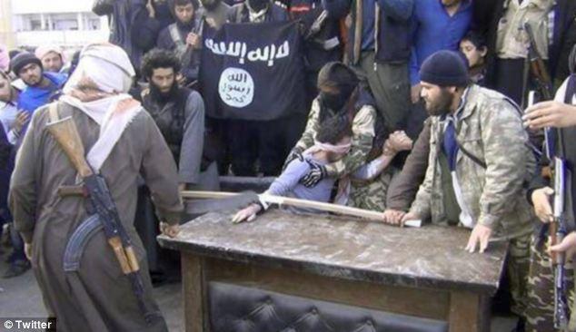 Syrian Islamists cut man's hand off
