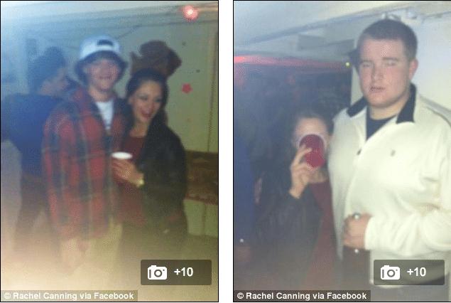Rachel Canning parties