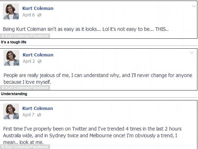 Australia's Kurt Coleman