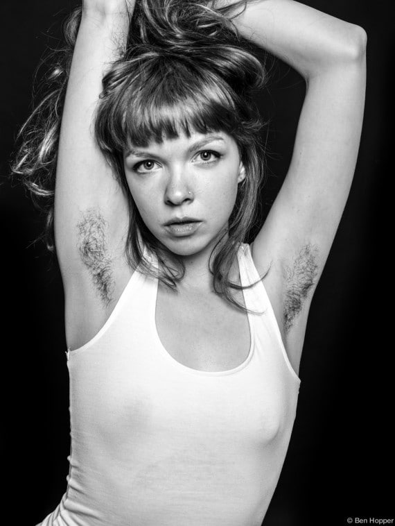 Ben Hopper Natural Beauty Do Hairy Armpits Make Skinny -3487