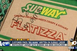 Allison Brown to sue Subway for fat shaming her: Wrote 'Big Mama' on her order