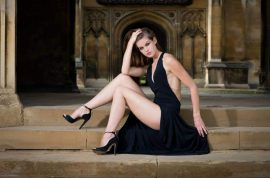 Carina Tyrrell, Cambridge medical student vies for Miss England title. Death for women.