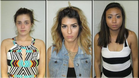Twerking suspects arrested after peeing in public