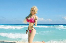 Human Barbie 'Valeria Lukyanova' race theory: How it got uglier.