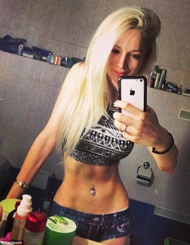 Human Barbie Valeria Lukyanova selfie