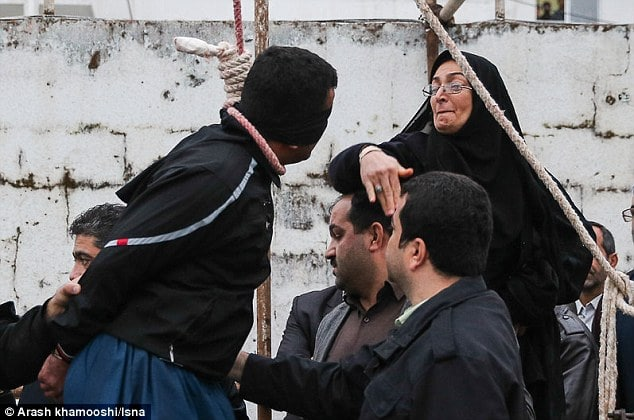 Iranian man spared from hanging