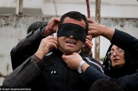 Why was an Iranian man spared from hanging? Victim's mother intervenes.